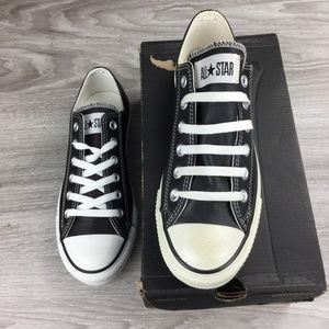 Converse All Star Leather Low Top Sneakers